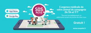 SOS Pets: l'application qui vous trouve un vétérinaire en urgence
